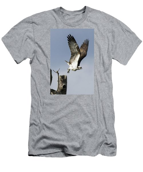 Men's T-Shirt (Slim Fit) featuring the photograph Sky Hunter by David Lester