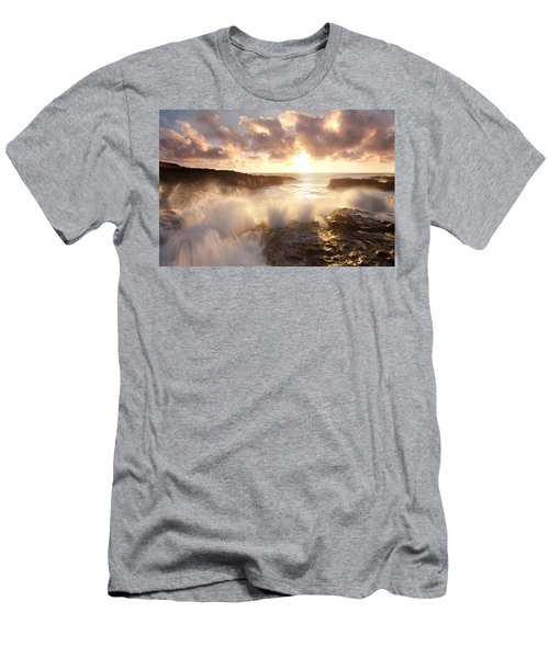 Smashing Sunset Men's T-Shirt (Athletic Fit)
