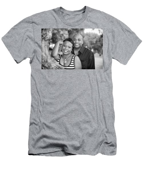 Men's T-Shirt (Slim Fit) featuring the photograph Smith Harper 16 by Coby Cooper
