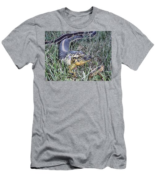 Men's T-Shirt (Athletic Fit) featuring the photograph Snake With Legs by James Peterson