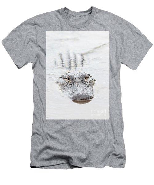 Sneaky Swamp Gator Men's T-Shirt (Athletic Fit)