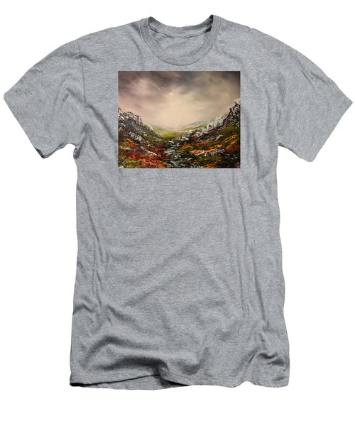 Snow On The Cairngorms Men's T-Shirt (Slim Fit) by Jean Walker