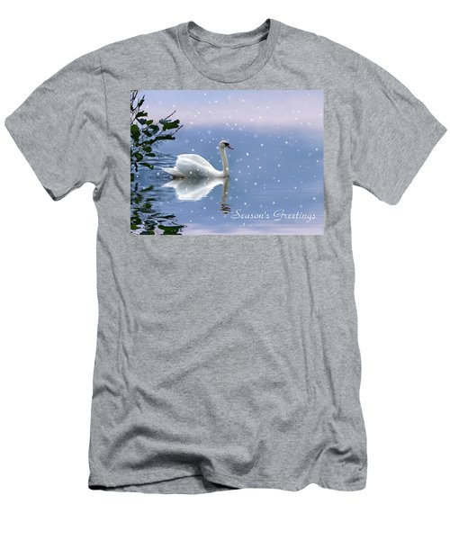 Snow Swan II Men's T-Shirt (Athletic Fit)