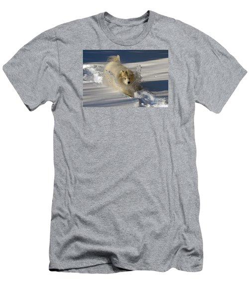 Snowplow Men's T-Shirt (Athletic Fit)