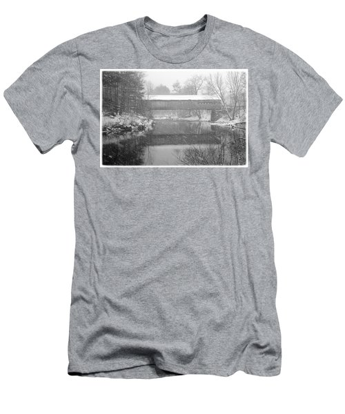 Snowy Crossing Men's T-Shirt (Athletic Fit)
