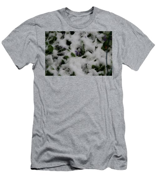 Men's T-Shirt (Slim Fit) featuring the photograph So Much For An Early Spring by David S Reynolds