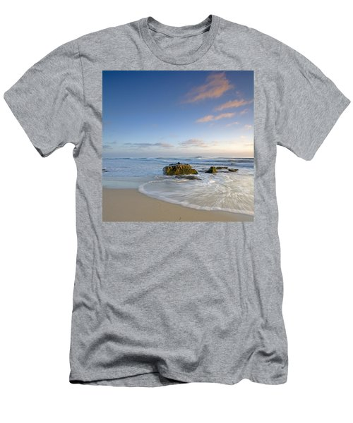 Soft Blue Skies Men's T-Shirt (Athletic Fit)
