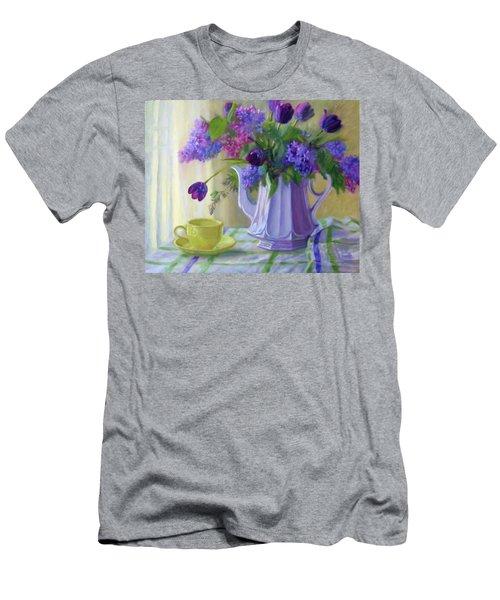 Soft Light Men's T-Shirt (Slim Fit) by Bonnie Mason