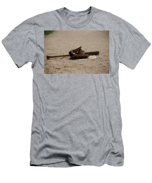 Softball Men's T-Shirt (Athletic Fit)