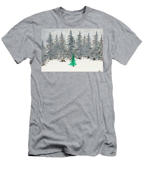 Solitary Men's T-Shirt (Slim Fit) by Stefanie Forck