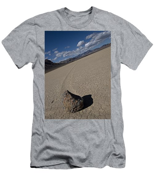 Men's T-Shirt (Slim Fit) featuring the photograph Solo Slider by Joe Schofield