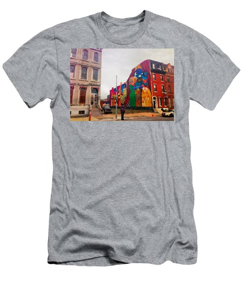 Some Color In Philly Men's T-Shirt (Athletic Fit)