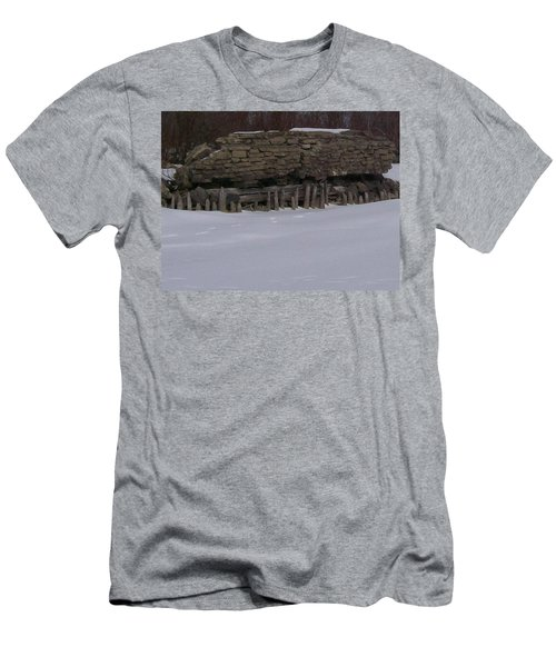 Men's T-Shirt (Slim Fit) featuring the photograph John Hinker's Coal Dock. by Jonathon Hansen