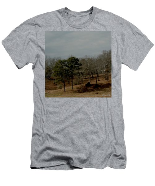 Men's T-Shirt (Slim Fit) featuring the photograph Southern Landscape by Lesa Fine