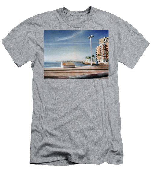 Spanish Coast Men's T-Shirt (Athletic Fit)