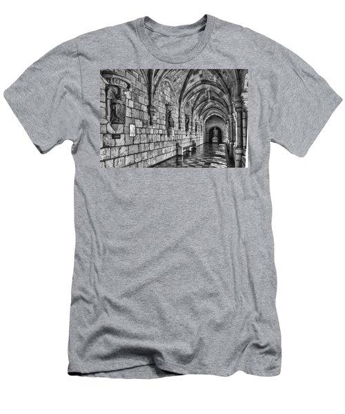 Spanish Monastary Men's T-Shirt (Athletic Fit)