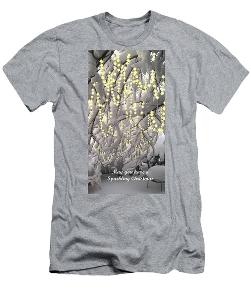Sparkling Christmas Men's T-Shirt (Athletic Fit)