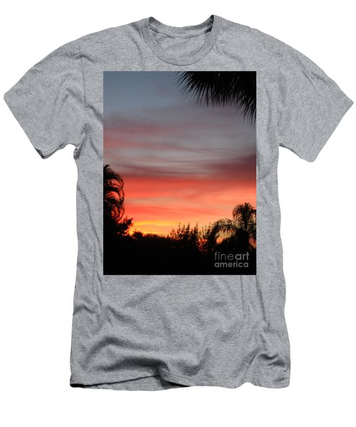 Spectacular Sky View Men's T-Shirt (Athletic Fit)