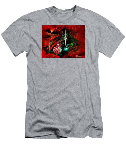 Spirit Of Christmas Men's T-Shirt (Slim Fit) by LaVonne Hand