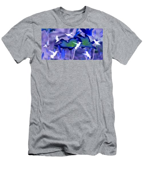 Spirit Of The Humming Bird Men's T-Shirt (Athletic Fit)