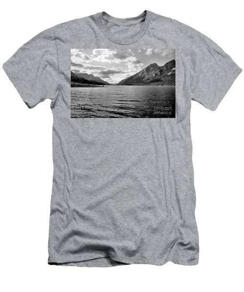 Spray Lake Men's T-Shirt (Athletic Fit)