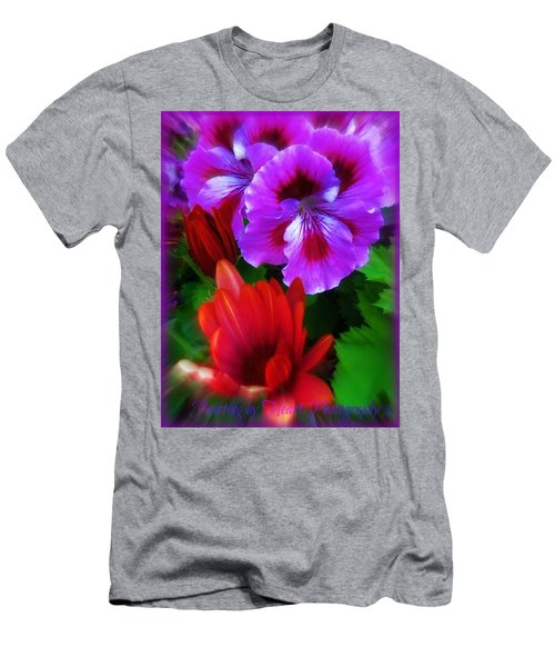Men's T-Shirt (Athletic Fit) featuring the photograph Spring by Deahn      Benware