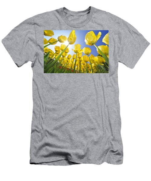 Spring Flowers 5 Men's T-Shirt (Athletic Fit)