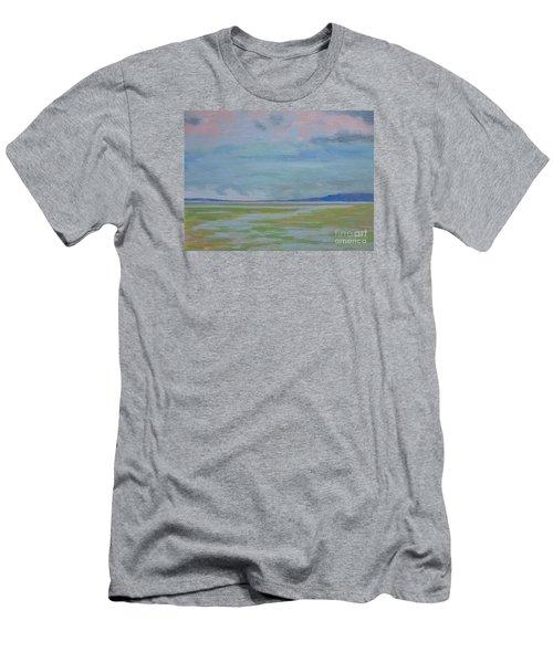Spring Rain At Lake Jackson Men's T-Shirt (Athletic Fit)