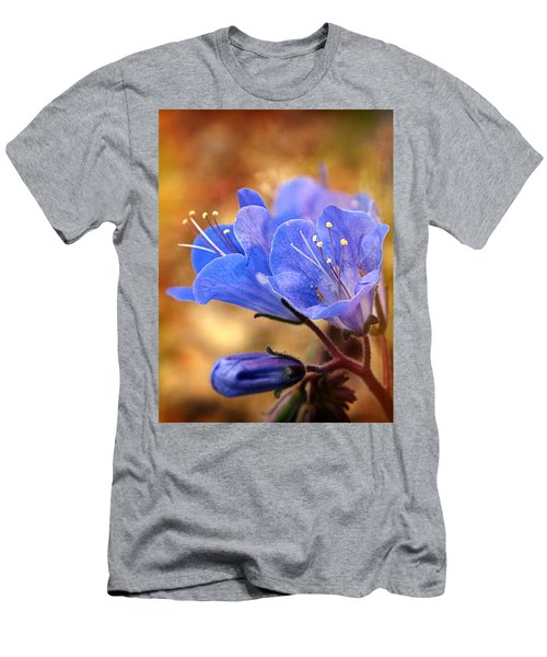 Spring Wildflowers - The Desert Bluebells Men's T-Shirt (Athletic Fit)