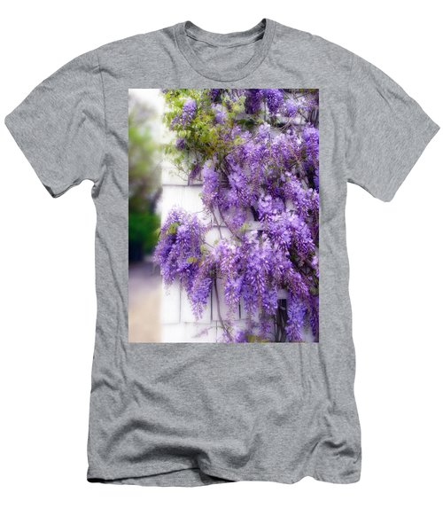 Spring Wisteria Men's T-Shirt (Athletic Fit)