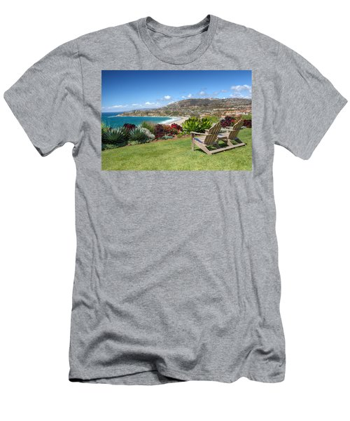 Springtime At Salt Creek Beach Men's T-Shirt (Athletic Fit)