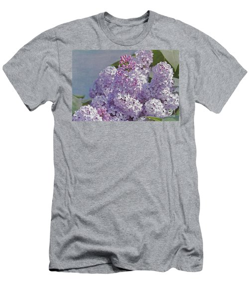 Springtime Lilacs Men's T-Shirt (Athletic Fit)