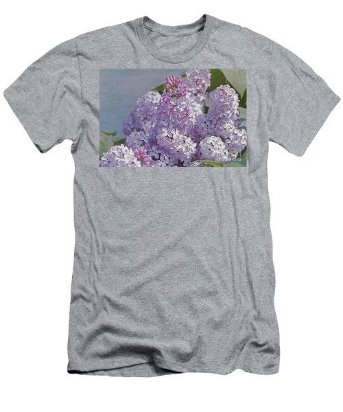 Springtime Lilacs Men's T-Shirt (Athletic Fit)