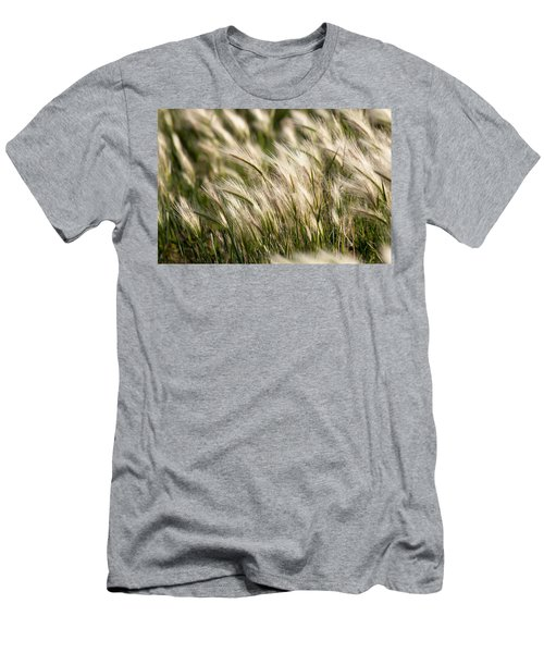 Squirrel Grass Men's T-Shirt (Athletic Fit)
