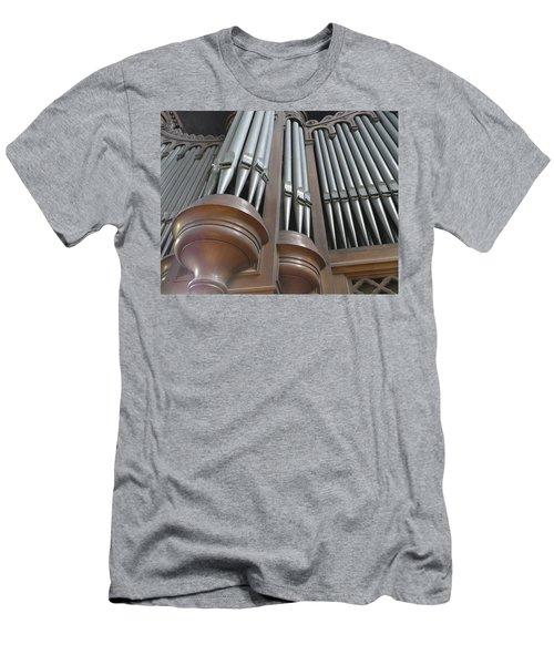 St Augustin Organ Men's T-Shirt (Athletic Fit)