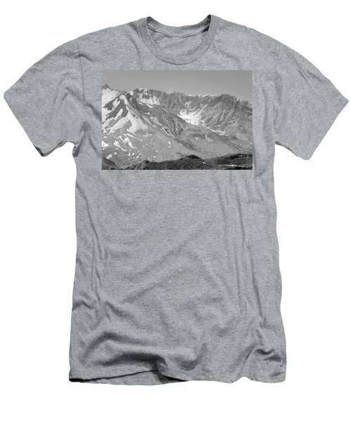 St. Helen's Crater Men's T-Shirt (Athletic Fit)