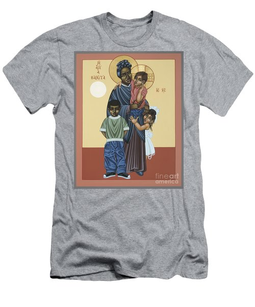 St. Josephine Bakhita Universal Sister 095 Men's T-Shirt (Athletic Fit)