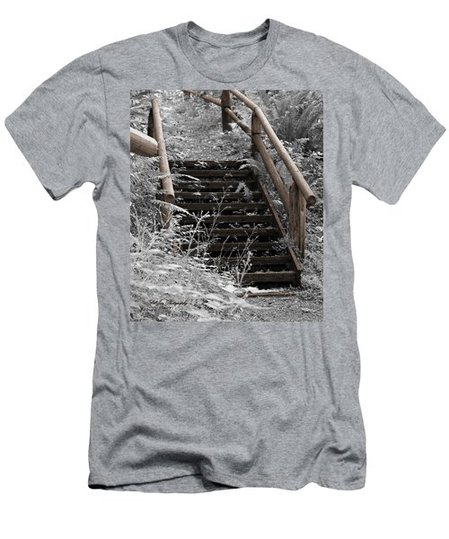 Stairway Home Men's T-Shirt (Athletic Fit)