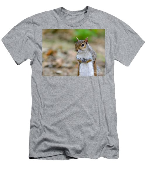 Standing Squirrel Men's T-Shirt (Athletic Fit)