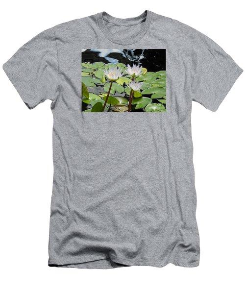 Standing Tall Men's T-Shirt (Slim Fit) by Chrisann Ellis