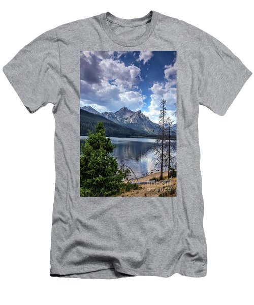 Stanley Lake View Men's T-Shirt (Athletic Fit)