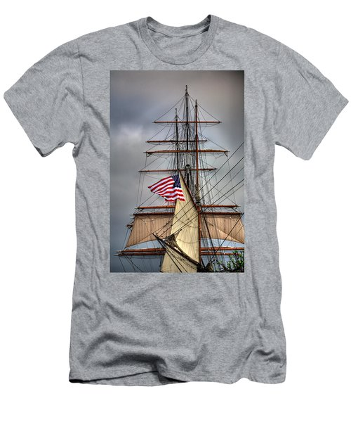 Star Of India Stars And Stripes Men's T-Shirt (Athletic Fit)