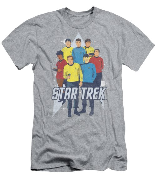 Star Trek - Here Here Men's T-Shirt (Athletic Fit)
