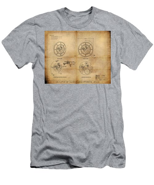 Steampunk Solar Disk Men's T-Shirt (Athletic Fit)