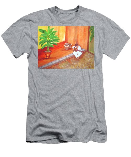 Steve While On Safari In South Africa Men's T-Shirt (Athletic Fit)