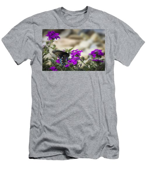 Still Beautiful Swallowtail Men's T-Shirt (Athletic Fit)