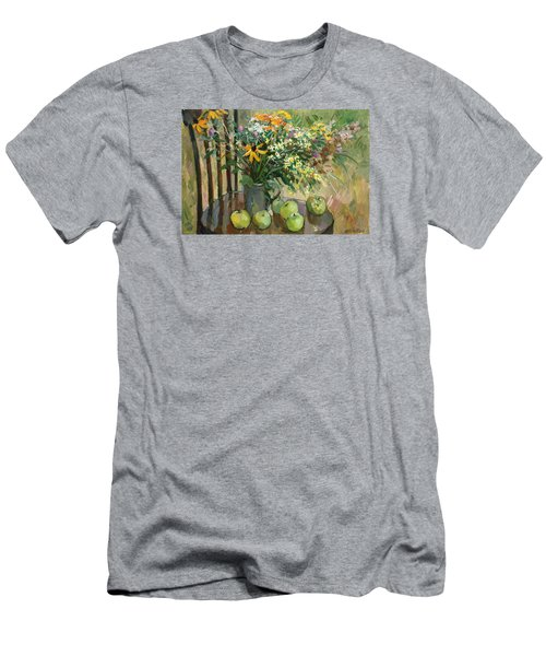 Stilllife With Apples Men's T-Shirt (Athletic Fit)