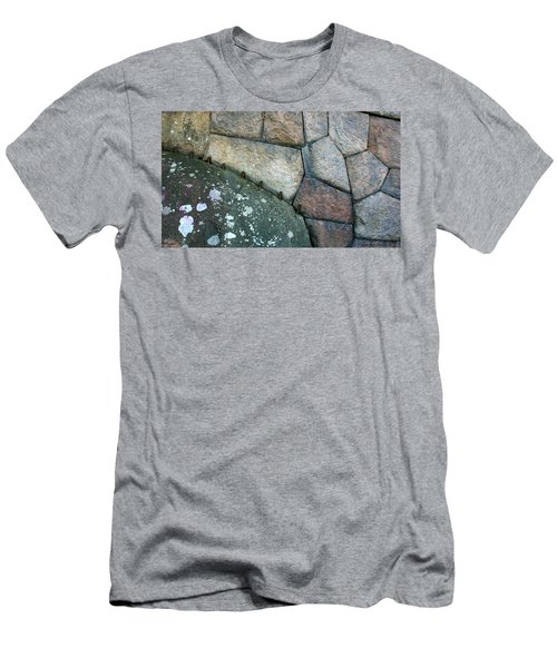 Stitched Stones Men's T-Shirt (Athletic Fit)