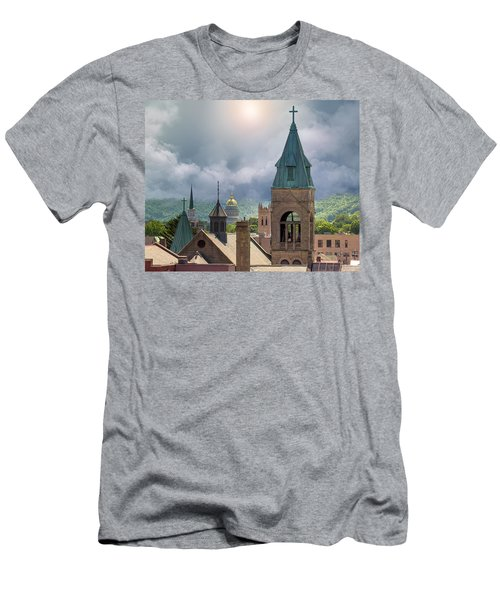 Storm Clouds In Charleston Wv Men's T-Shirt (Athletic Fit)