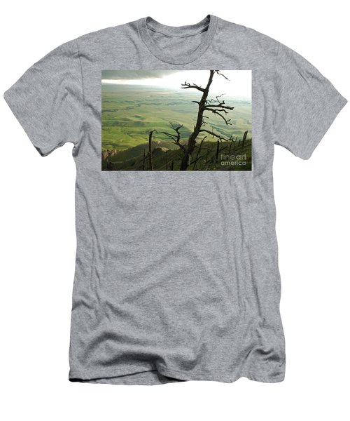 Stormy Tree Men's T-Shirt (Slim Fit) by Mary Carol Story